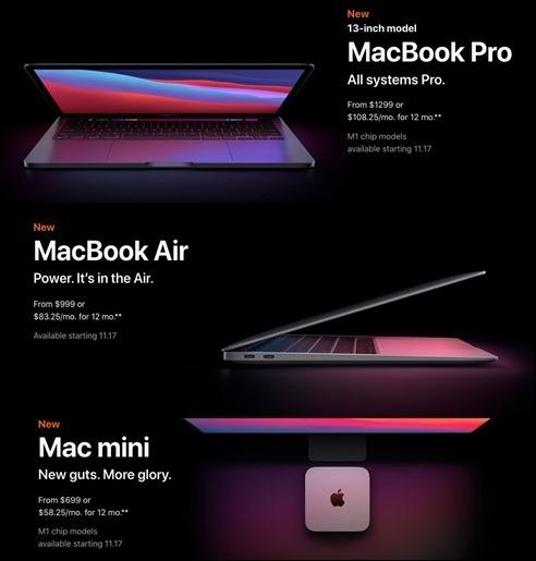 NewM1Macs20110