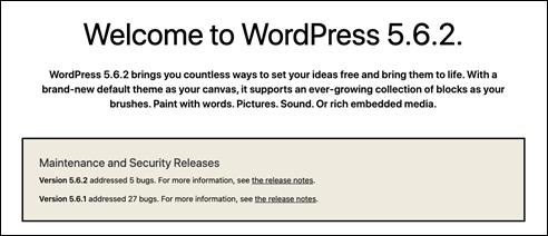 Wordpress562update