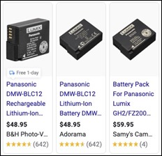 ShoppingPanasonicDMWBLC12battery4Lumix_m
