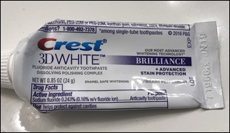 CrestWhiteToothpaste